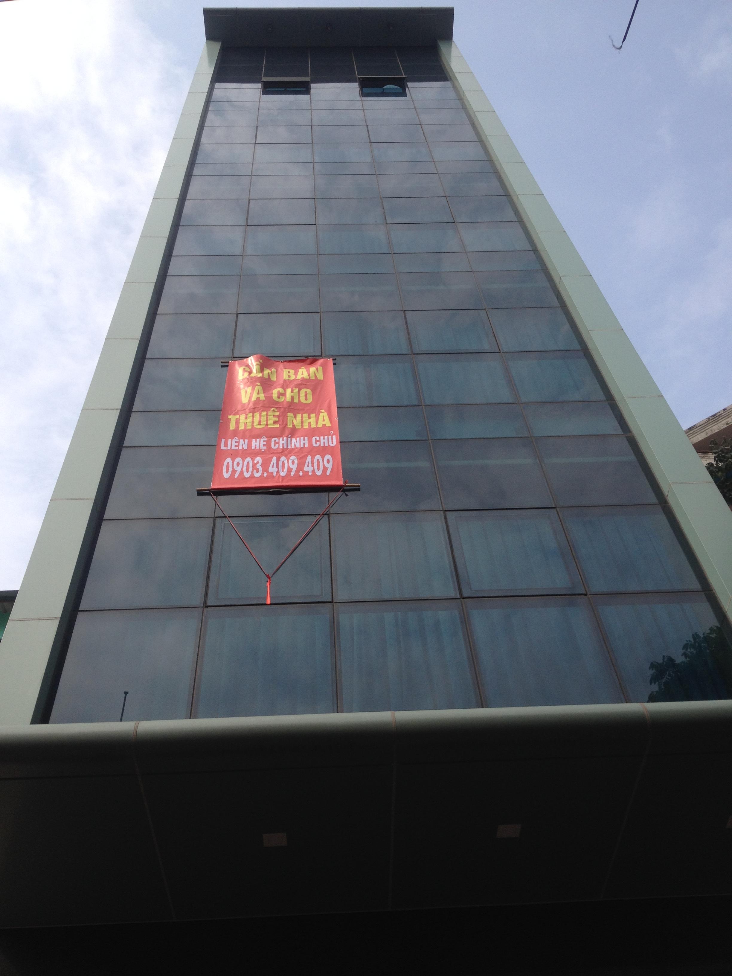 Cho thuê tòa nhà văn phòng Pasteur phường 6 quận 3