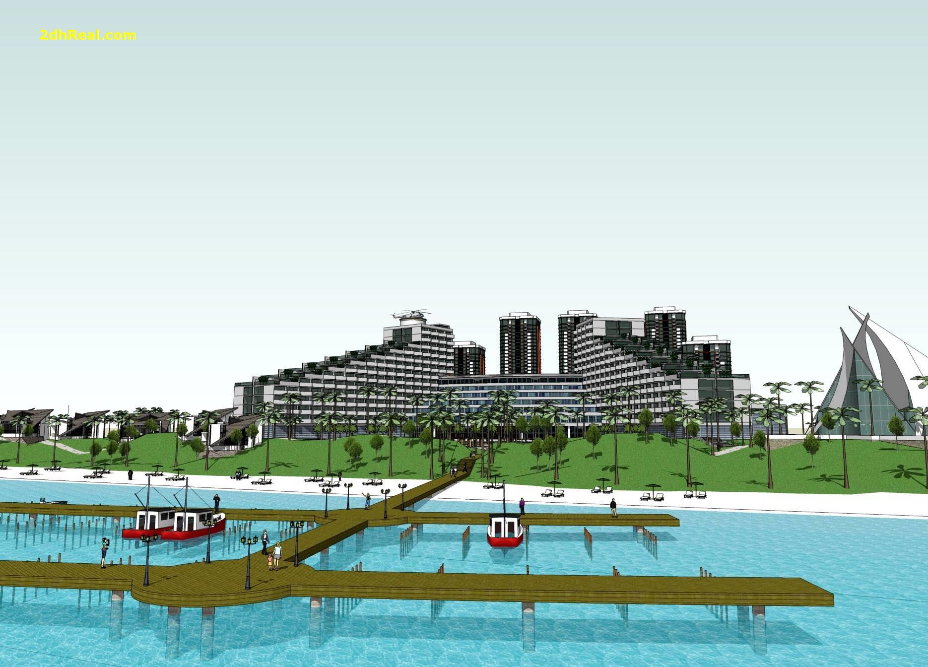 Bán dự án Resort 5 sao 20 hecta tại thành phố Vũng Tàu, tỉnh Bà Rịa – Vũng Tàu