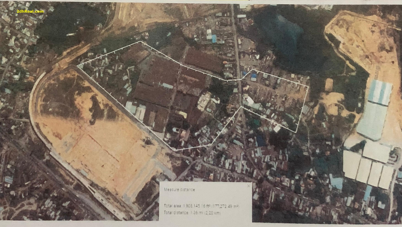 Bán dự án 16,5ha khu dân cư phường Long Bình, quận 9, Tp.HCM
