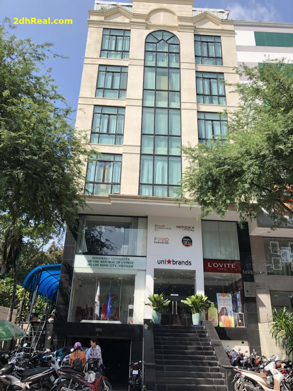 Bán Cao Ốc 149B Trương Định, phường 9, Quận 3 , TP .HCM .