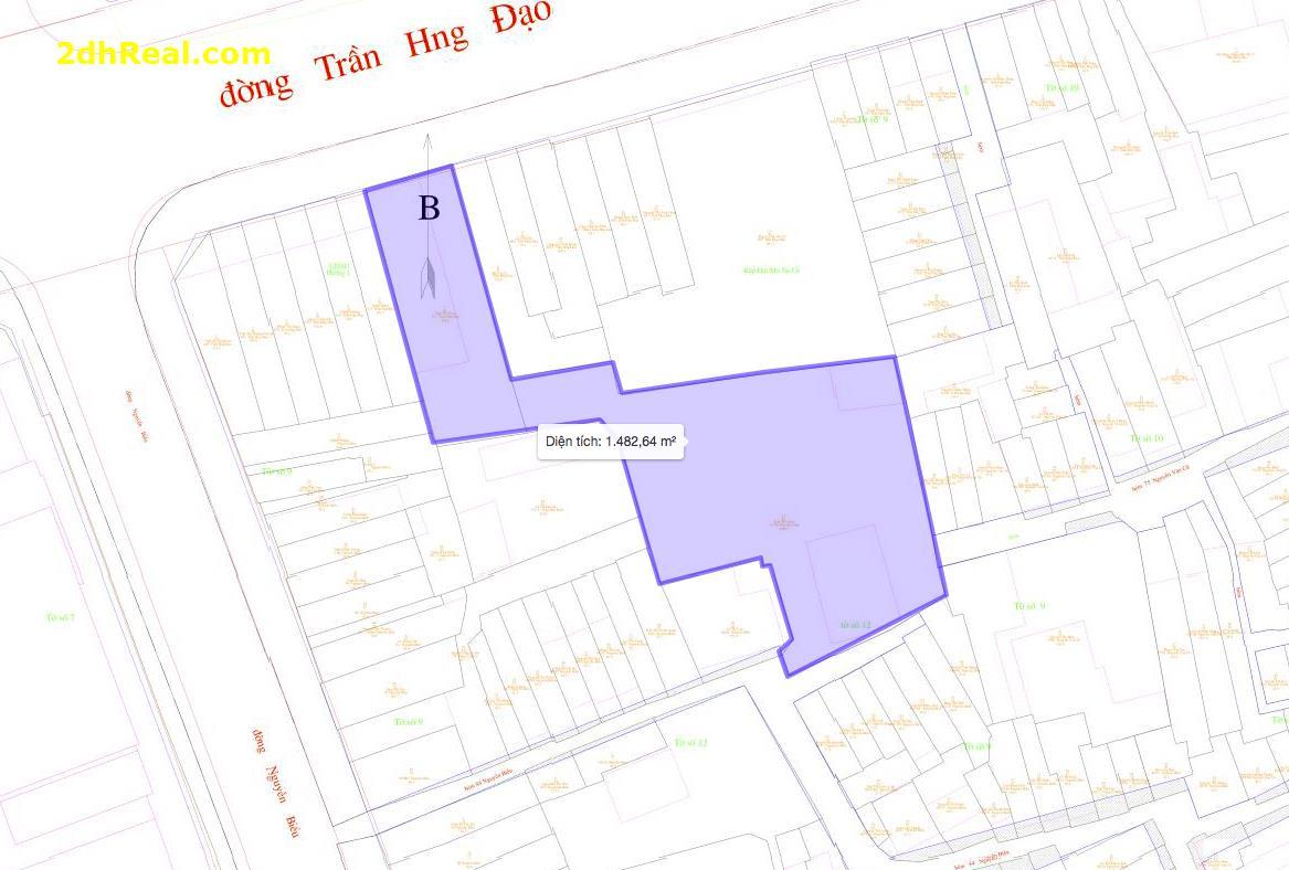 Bán Nhà 671 Trần Hưng Đạo , phường 1, quận 5. Diện tích :  1.397, 34m2.Giá:  320 tỷ