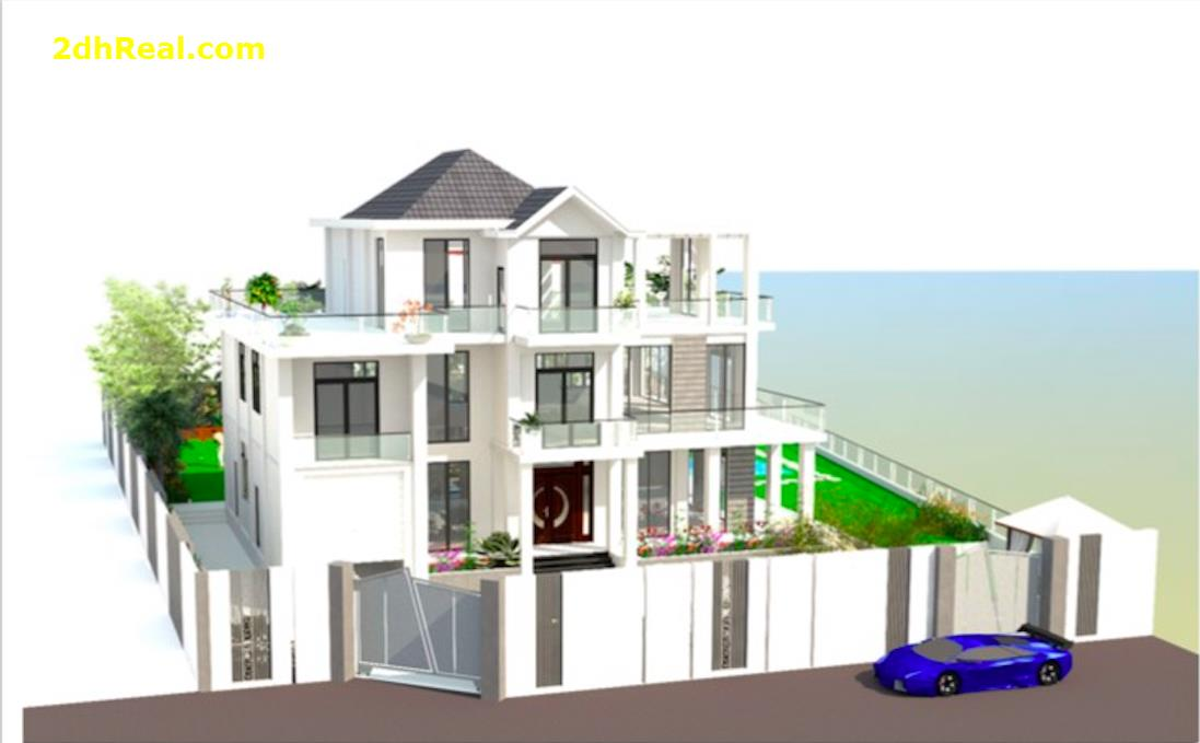 Bán biệt thự view sông 50m, đường Nguyễn Văn Hưởng, phường Thảo Điền, quận 2  Giá : 175 tỷ