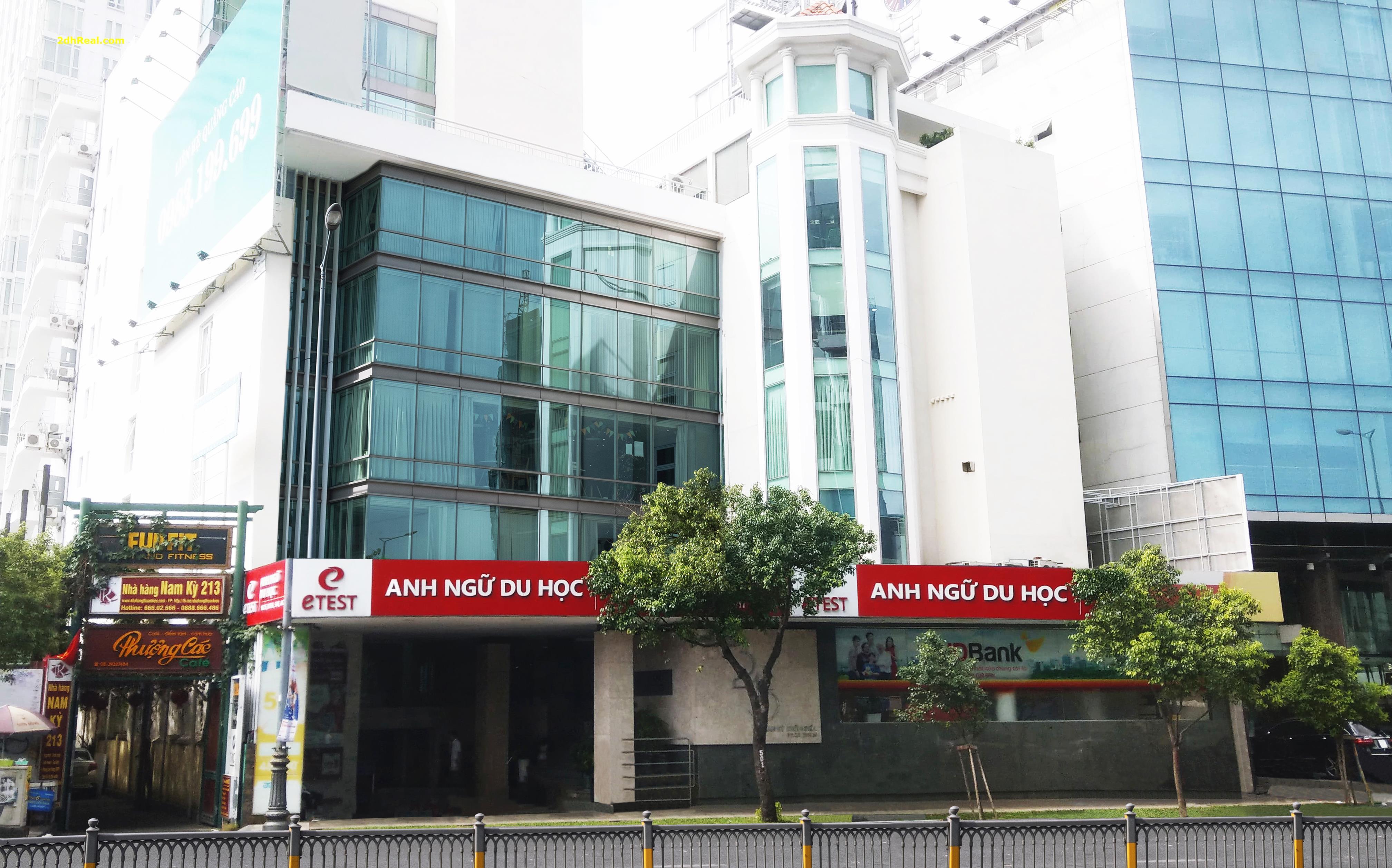 Bán Tòa nhà văn phòng 215 Nam Kỳ Khởi Nghĩa, phường 7 , quận 3.