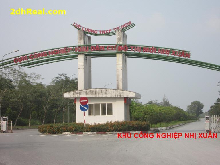 Dự án  54 hecta Cụm Công Nghiêp Nhị Xuân, xã Xuân Thới Thượng, huyện Hóc môn, Tp.HCM