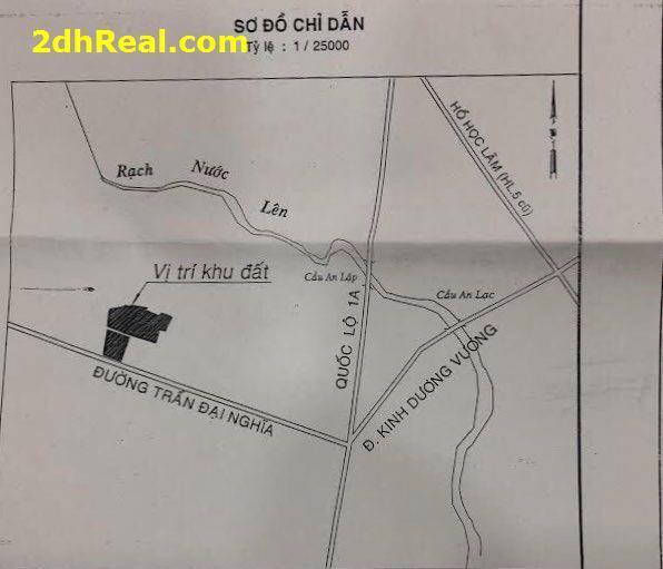 Chuyển nhượng, Bán Dự án  Trung Tâm Thương Mại và Căn Hộ, Phường Tân Tạo A, Quận Bình Tân. (6ha)