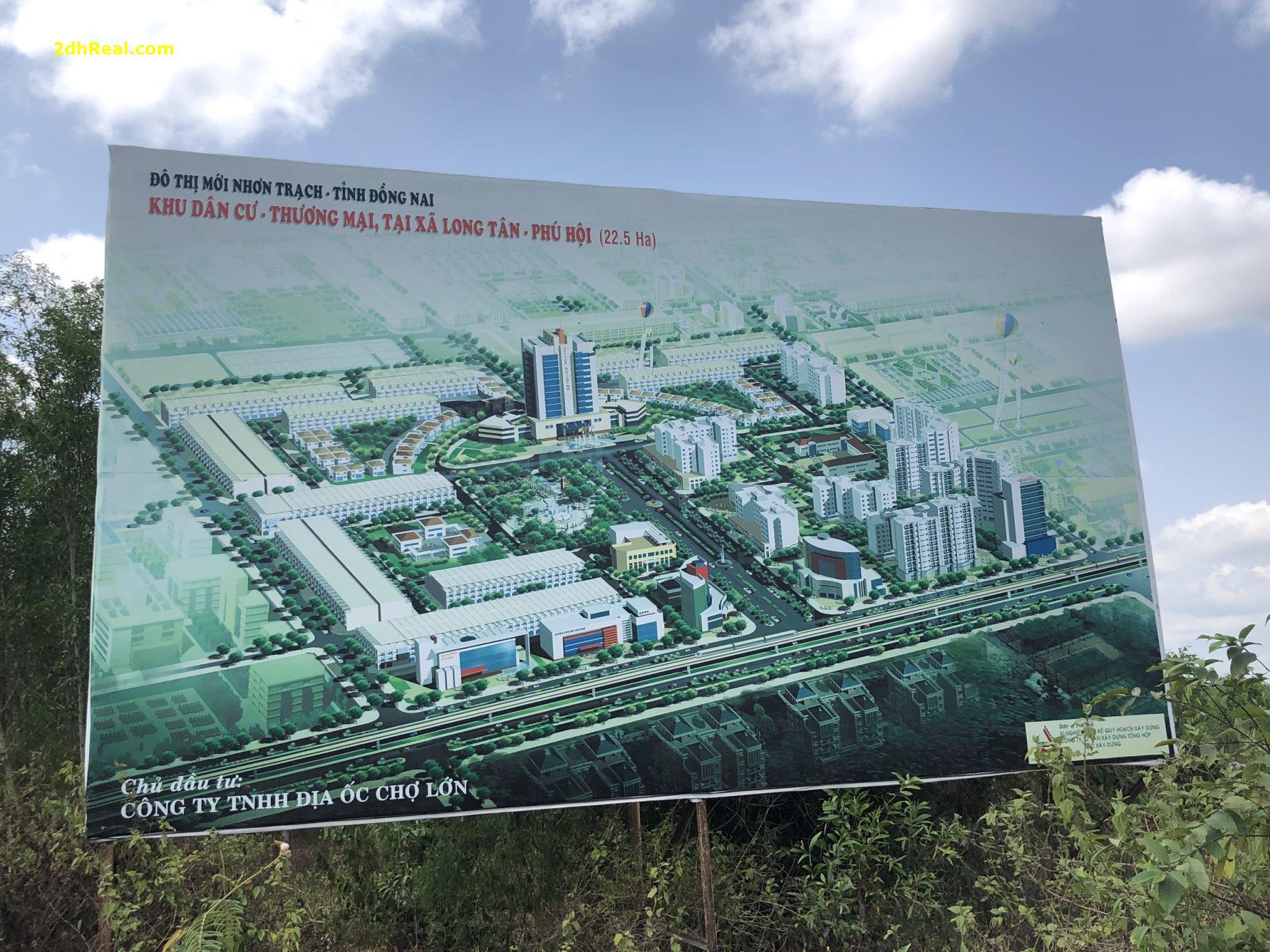 Bán dự án Địa Ốc Chợ Lớn 23 ha huyện Nhơn Trạch tỉnh Đồng Nai
