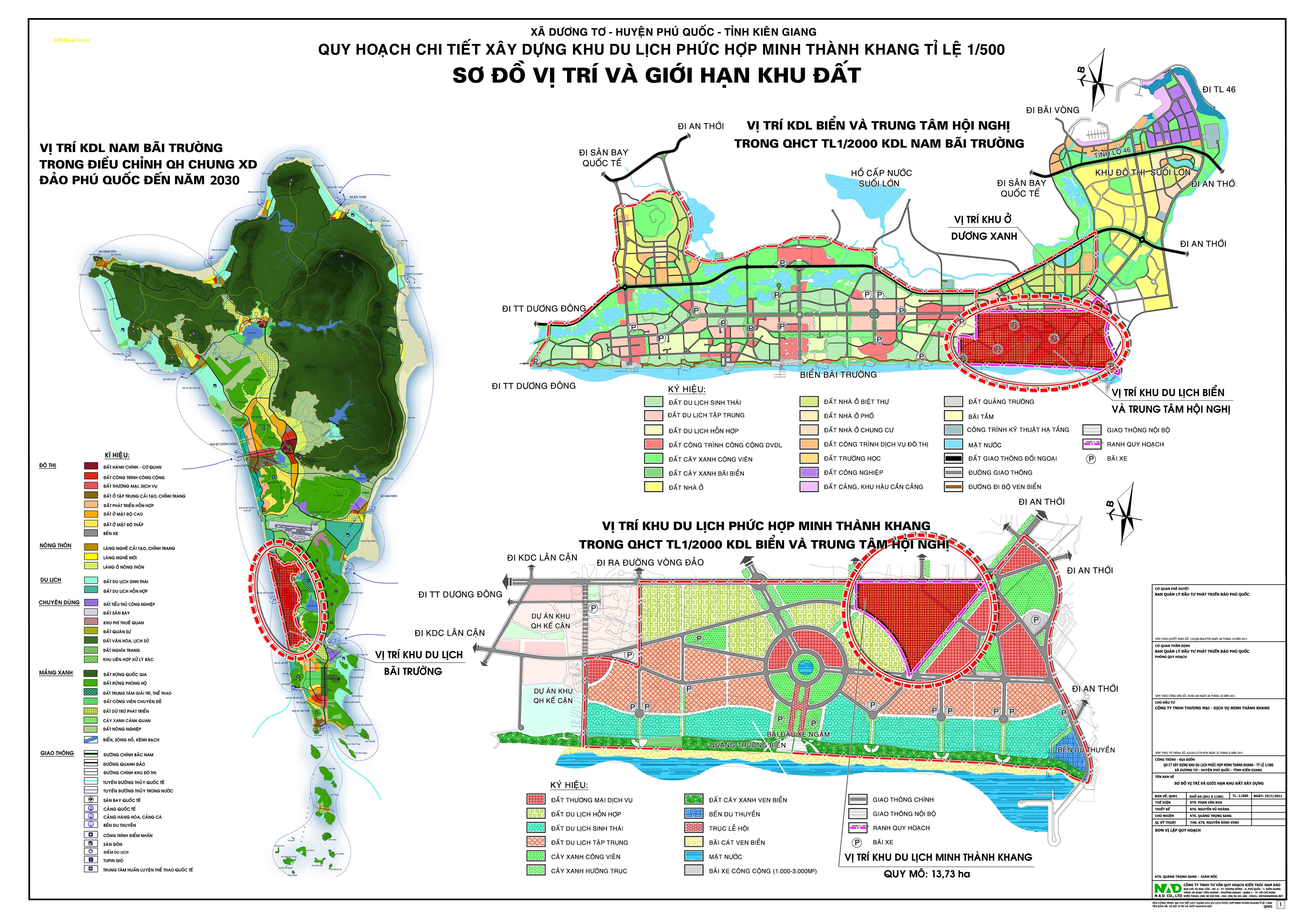 Bán dự án 13,73 hecta khu du lịch nghỉ dưỡng 5 sao tại khu phức hợp Bãi Trường, xã Dương Tơ, huyện Phú Quốc, tỉnh Kiên Giang