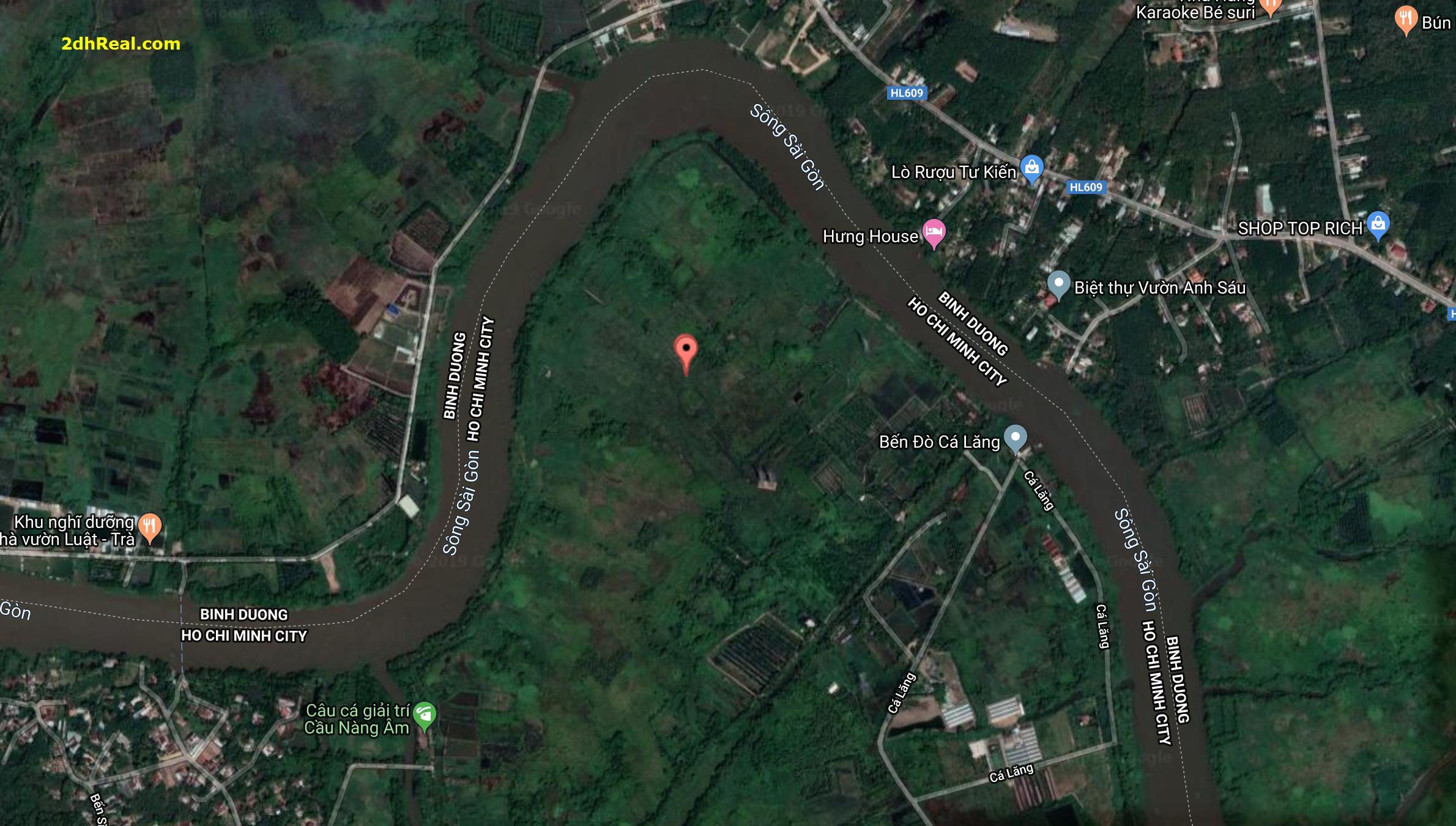 Bán dự án Khu du lịch sinh thái – nghỉ dưỡng 93ha tại xã Phú Hoà Đông, huyện Củ Chi, Tp.HCM