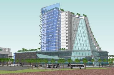 001A Tổ hợp dịch vụ cao ốc văn phòng, căn hộ du lịch cao cấp và khách sạn 5 sao OSC-Duxton | Khách sạn Hilton