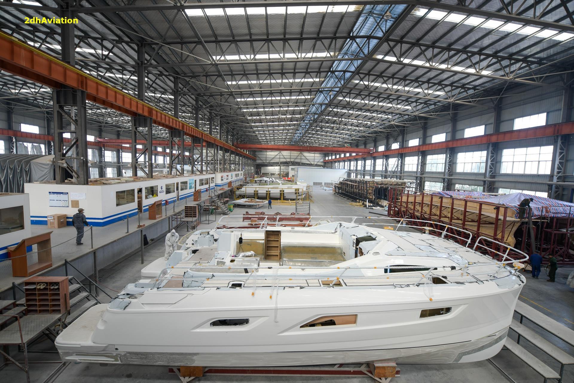 Bên trong một xưởng đóng du thuyền lớn nhất thế giới