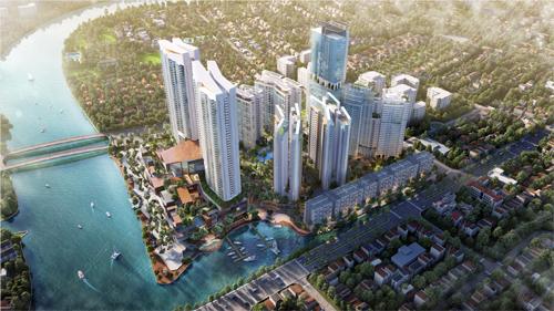 Khu đô thị mới tỷ USD tại Nam Sài Gòn