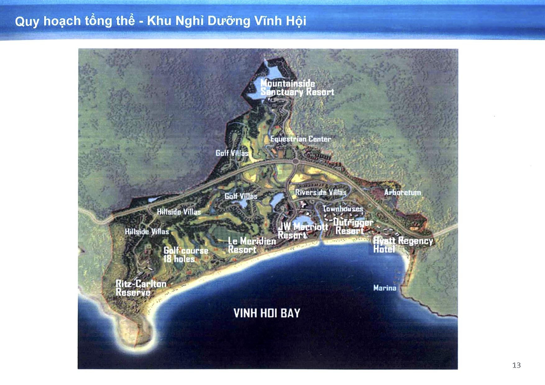 Khu Khách Sạn và Nghĩ Dưỡng Vĩnh Hội 325 ha tại Thôn Vĩnh Hội, Huyện Phù Cát, Tỉnh Bình Định